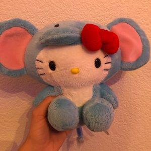 Hello kitty elephant plushie